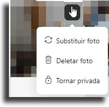 Deletar excluir todas as suas fotos de uma só vez no Badoo