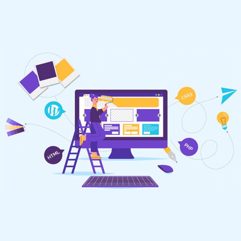 Como criar um site com domínio e hospedagem?