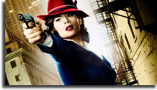 Agente Carter melhores seriados da Marvel