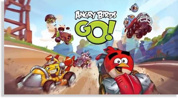 juegos para iPhone y iPad Angry Birds Go