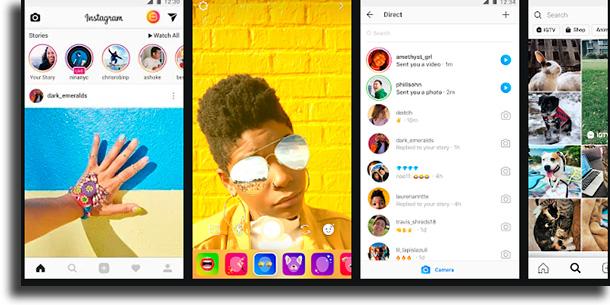 O que é Instagram compartilhar fotos do feed com amigos
