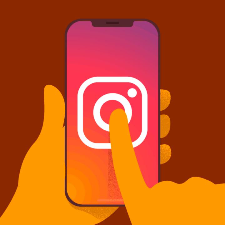 Como compartilhar fotos do feed com amigos no Instagram Web