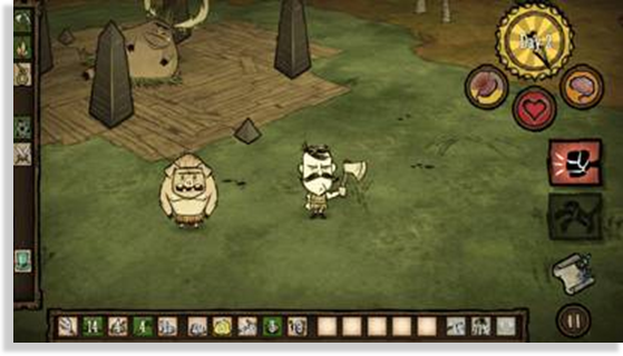 juegos para iPhone y iPad Don't Starve