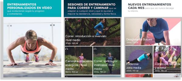 aplicaciones para hacer ejercicio fitbit coach
