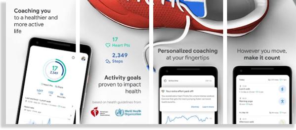 google fit aplicaciones para hacer ejercicio