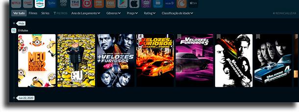 ícone novos lançamentos no Amazon Prime Video