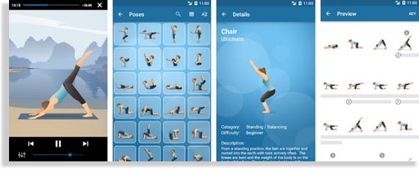 aplicaciones para hacer ejercicio pocket yoga