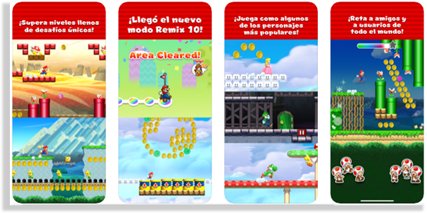 juegos para iPhone y iPad super mario run