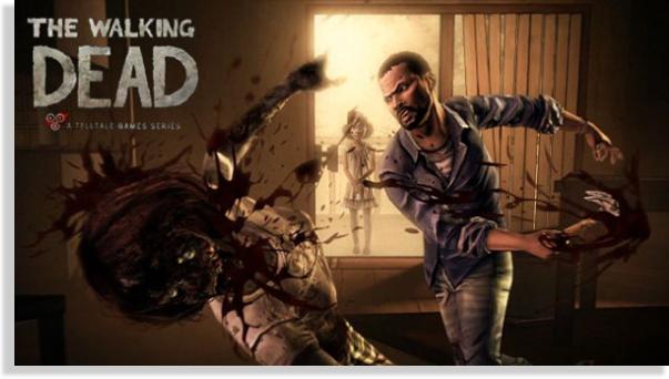 juegos para iPhone y iPad The Walking Dead