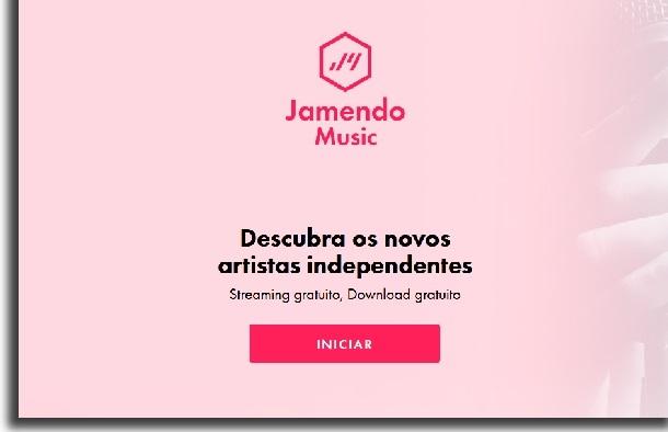 Jamendo sites para baixar música grátis em mp3