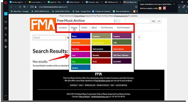 baixe música grátis no FMA