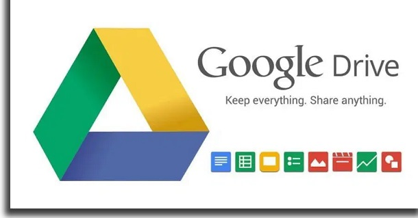 como funciona o google drive