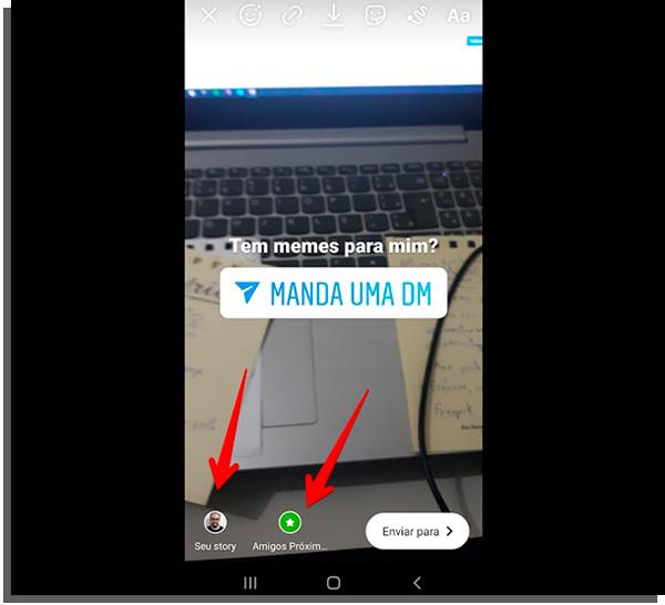termine o post e aprenda como pedir dm no stories do instagram