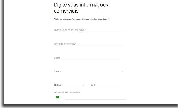 criar email personalizado informações pessoais