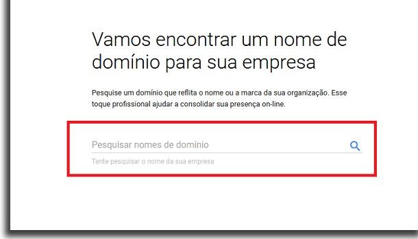 criar email personalizado no gmail