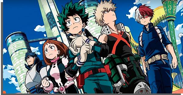 my hero academia é um dos melhores animes da atualidade