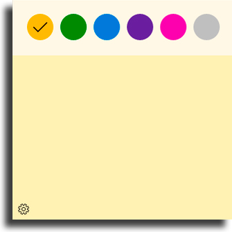 Personalizar as suas anotações adicionar lembrete na área de trabalho
