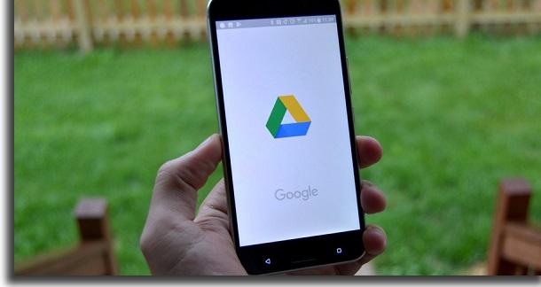 usar google drive no trabalho