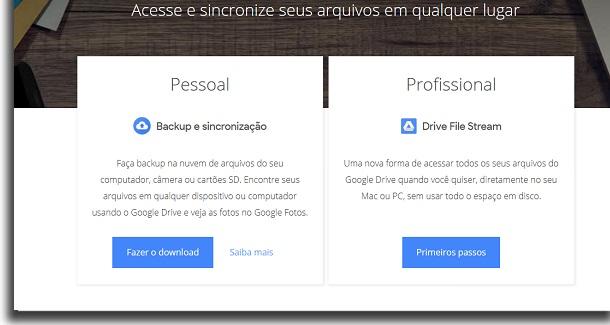 usar o app desktop