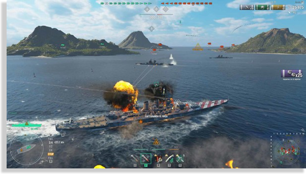 world of warships juego MMO