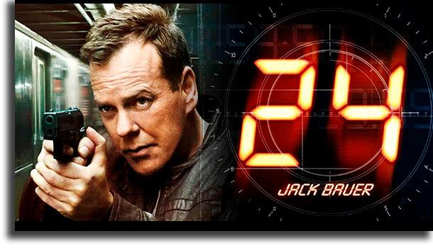 24 Horas melhores seriados de espionagem