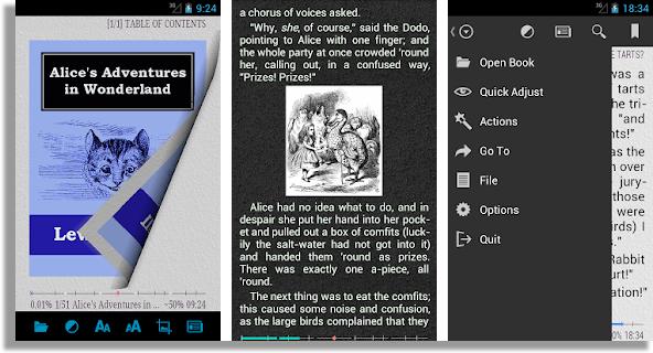 convertir texto en audio AlReader