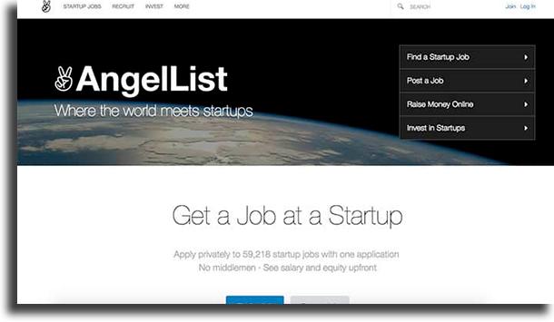 AngelList make money online