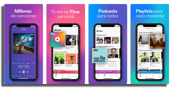 descargar música en iOS Deezer
