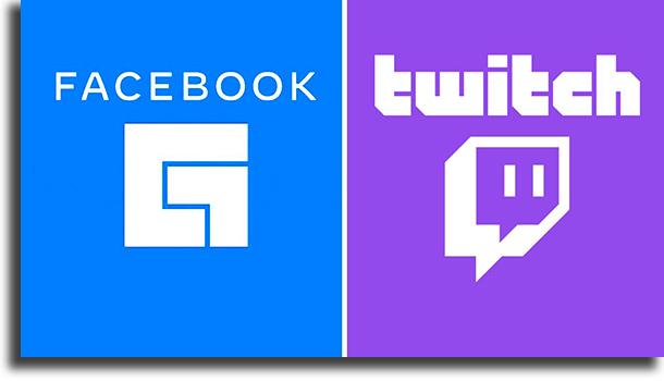 O que são cada uma das plataformas? Facebook Gaming ou Twitch