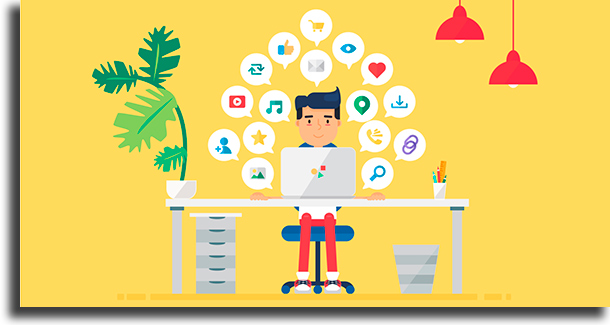 Gestor de redes sociais profissões para trabalhar em casa