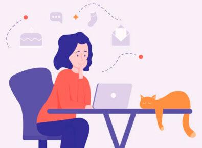 Destaque conciliar o home office com a vida pessoal