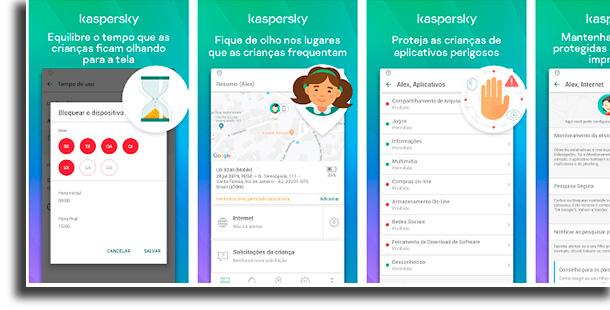Kaspersky Safe Kids apps para os pais saberem mais sobre seus filhos