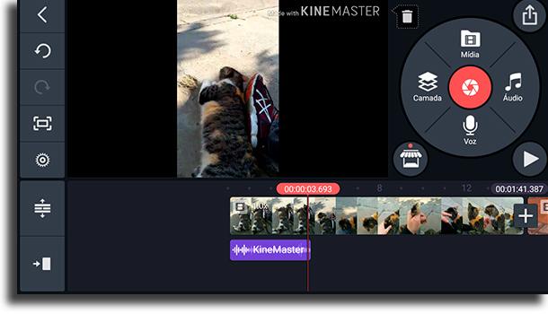 como usar KineMaster