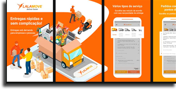 Lalamove apps de delivery mais populares