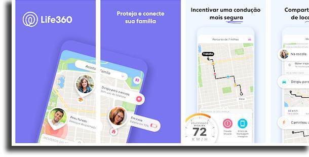 Life360 apps para os pais saberem mais sobre seus filhos