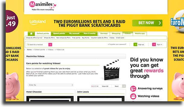 Maximiles make money online