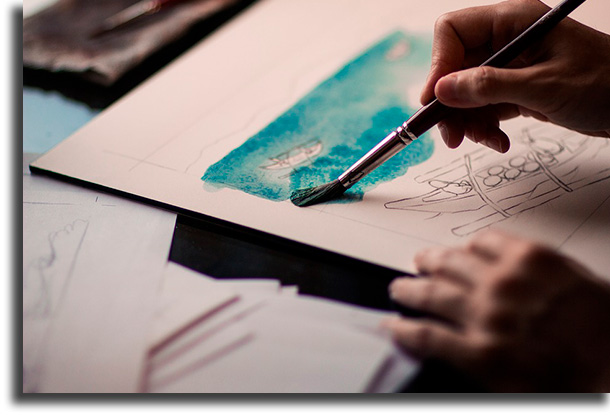 Pintor profissões para trabalhar em casa