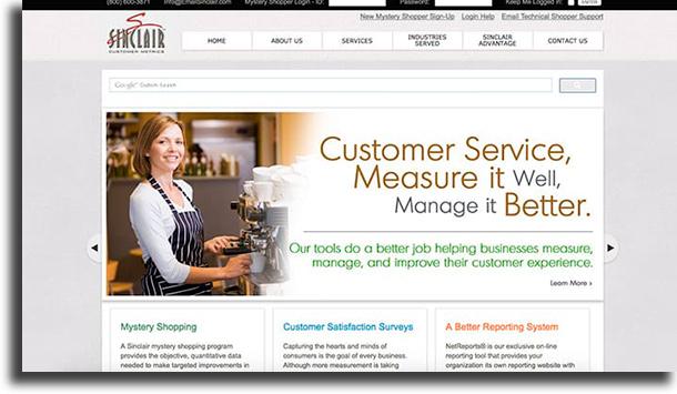 Sinclair Customer Metrics make money online