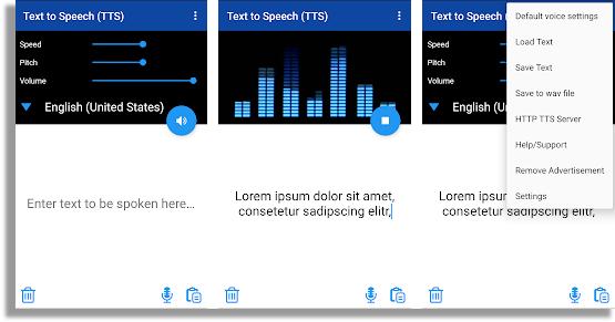 convertir texto en audio TTS