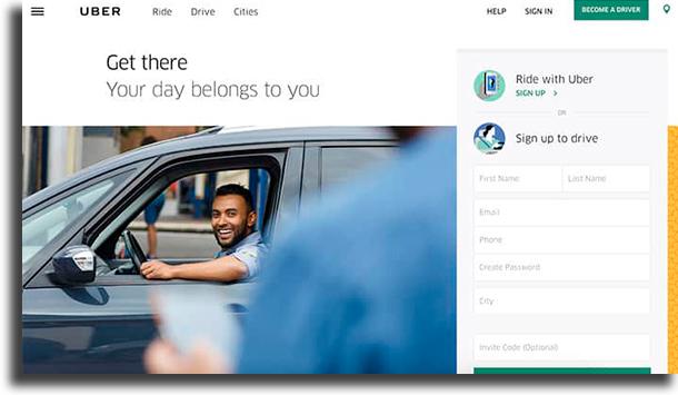 Uber make money online
