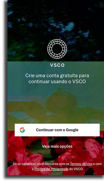 Como usar VSCO