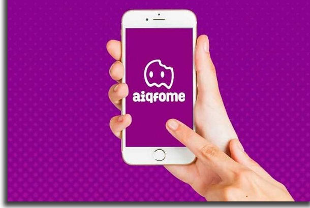 apps que prometem entrega sem contato aiqfome