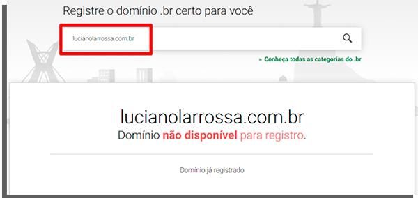 registro de domínio é necessário para email empresarial