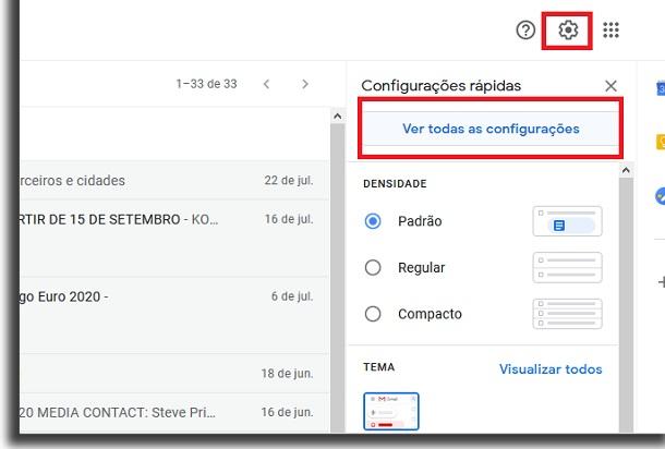 conta no gmail