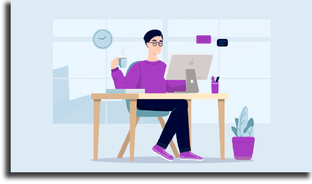 Escolha um local para trabalhar conciliar o home office com a vida pessoal