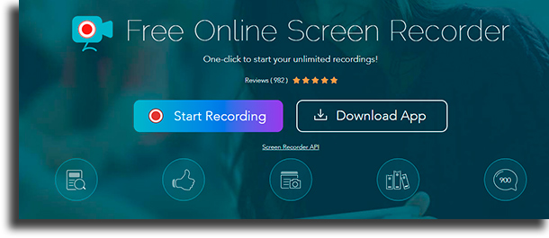 Apowersoft Captura de Tela Pro free screen recording software