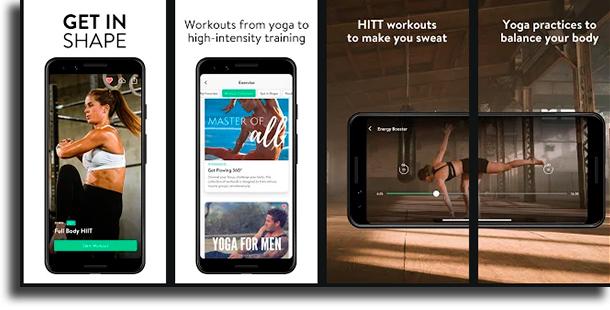 Asana Rebel best workout apps