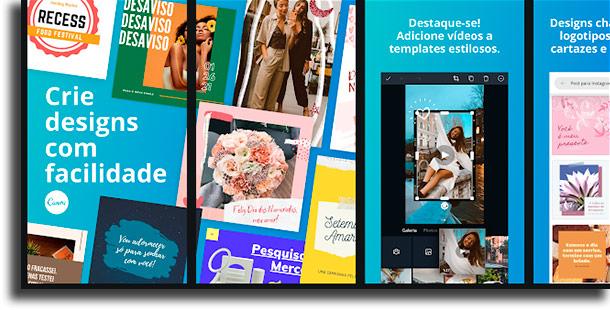 Canva aplicativos de fotos mais usados