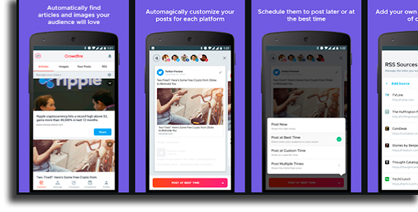 Crowdfire apps to get Instagram followers