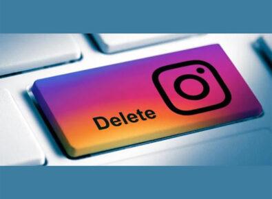 Destaque Como excluir a conta do Instagram